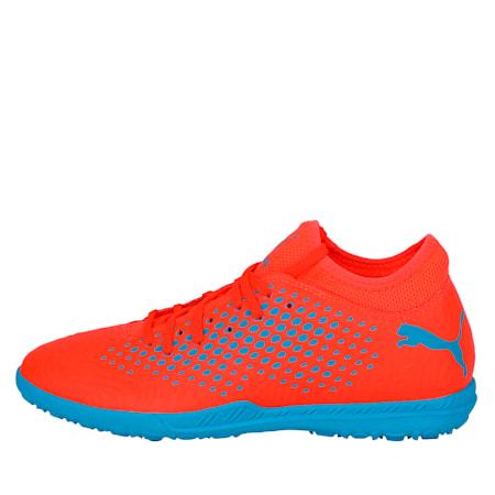 FUTURE 19.4 TT Men's Football Boots, Red Blast-Bleu Azur, small-IND