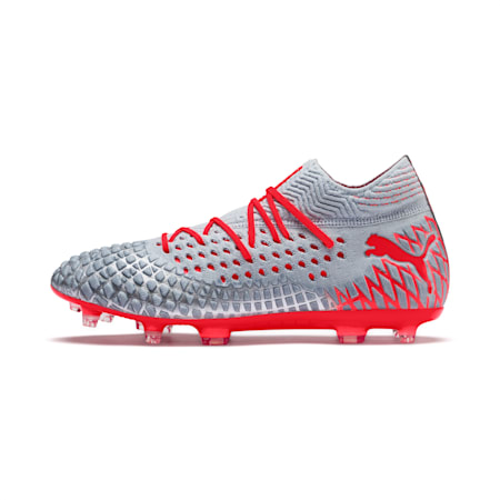FUTURE 4.1 NETFIT FG/AG Men's Football Boots, Blue-Nrgy Red-High Risk Red, small-IND