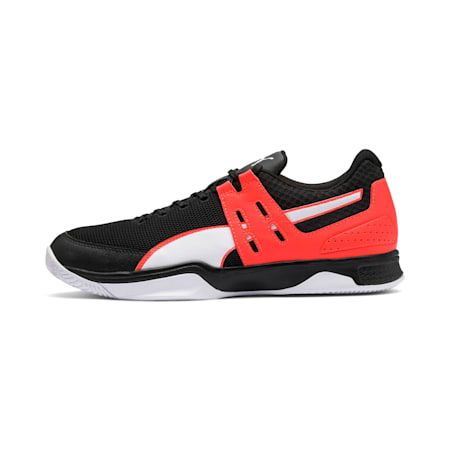 Boundless Men's Shoes, Black-Nrgy Red-Puma White, small-IND