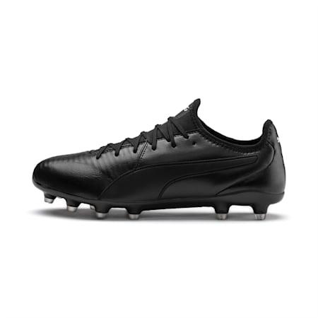 Souliers à crampons de soccer King Pro FG, noir PUMA-blanc PUMA, petit