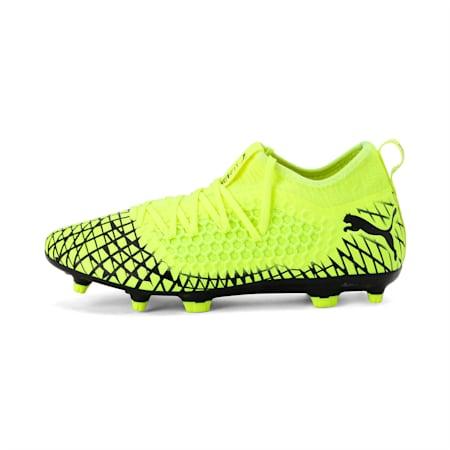 FUTURE 4.3 NETFIT FG/AG Men's Football Boots, Yellow Alert-Puma Black, small-IND