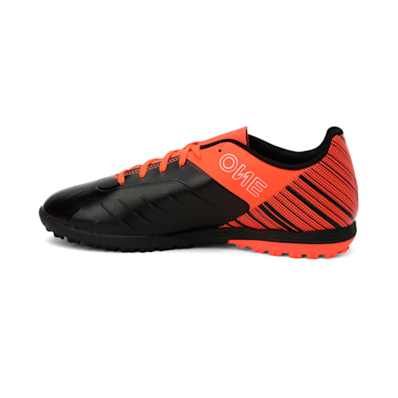 PUMA ONE 5.4 TT Men's Football Boots, Black-Nrgy Red-Aged Silver, small-IND