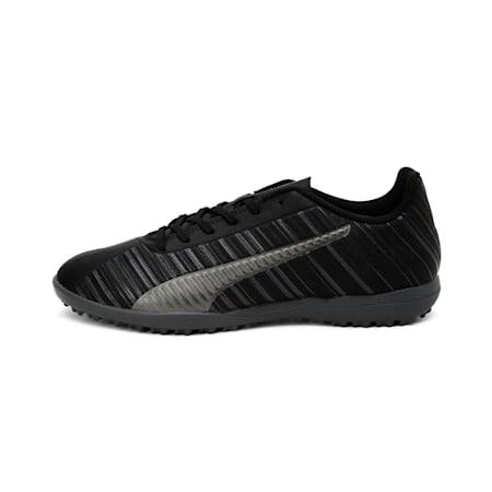 PUMA ONE 5.4 TT Men's Football Boots, Black-Black-Puma Aged Silver, small-IND
