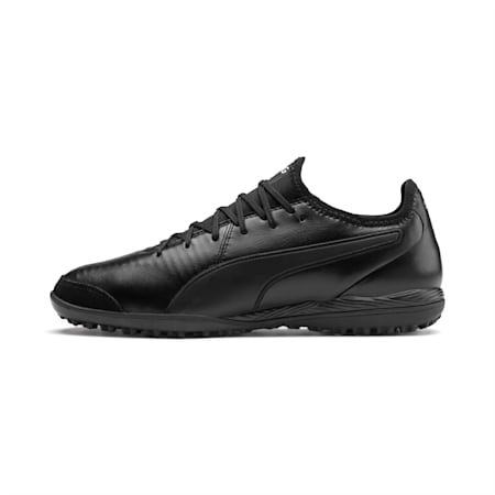 King Pro TT Soccer Shoes, Puma Black-Puma White, small