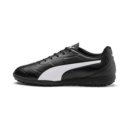 Monarch TT Men's Football Boots, Puma Black-Puma White, small-IND