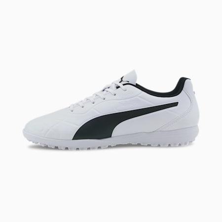 Monarch TT Men's Football Boots, Puma White-Puma Black, small-IND
