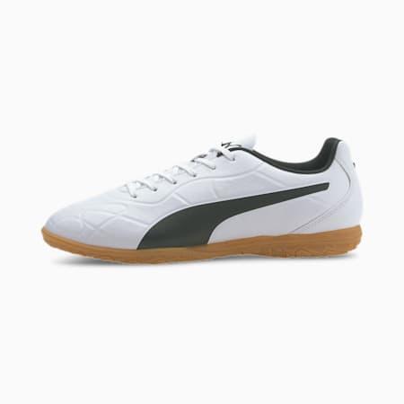 Monarch IT Men's Football Boots, Puma White-Puma Black-Gum, small-IND