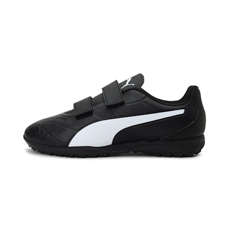 Monarch TT Youth Football Boots, Puma Black-Puma White, small-IND