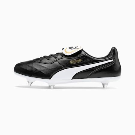 KING TOP SG Football Boots, Puma Black-Puma White, small