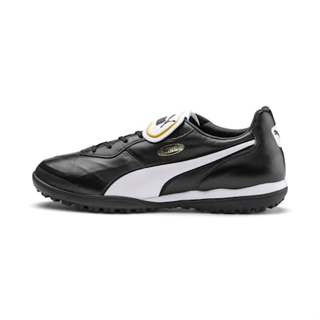 Meskie buty pilkarskie KING Top TT, Puma Black-Puma White, small