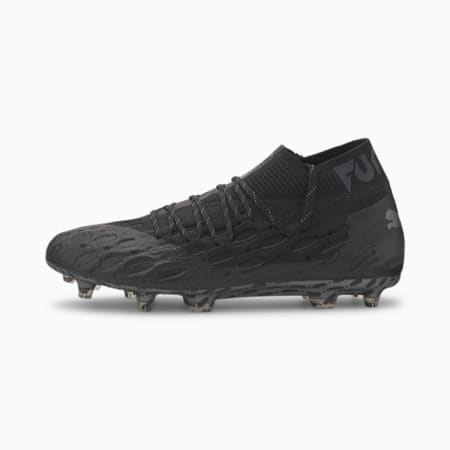 FUTURE 5.1 NETFIT FG/AG Men's Football Boots, Puma Black-Asphalt, small