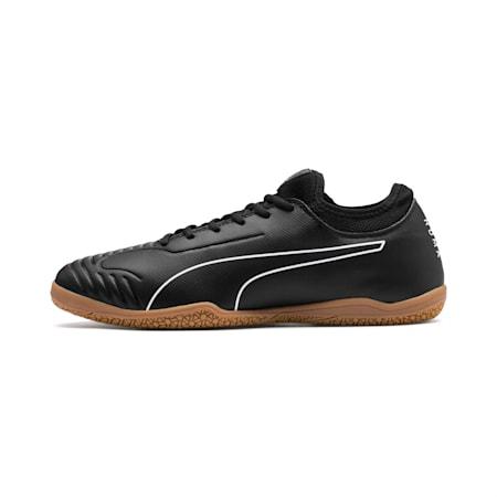 365 Zapatos de fútbolSala 2, Puma Black-Puma White-Gum, pequeño