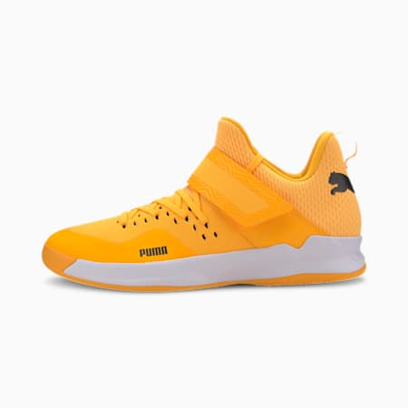 Rise XT NETFIT EH 2 Handball Shoes, Orange Alert-Black-White, small