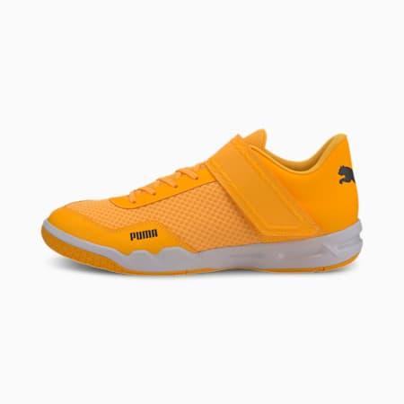 Rise XT EH 4 Men's Football Boots, Orange Alert-Black-White, small