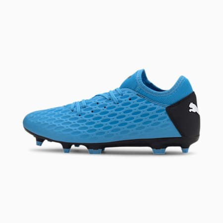 FUTURE 5.4 FG/AG Men's Football Boots, Blue-Nrgy Blue-Black-Pink, small