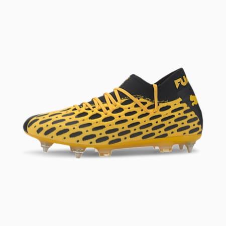 FUTURE 5.2 NETFIT MxSG Men's Football Boots, ULTRA YELLOW-Puma Black, small