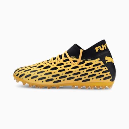 FUTURE 5.2 NETFIT MG Men's Football Boots, ULTRA YELLOW-Puma Black, small