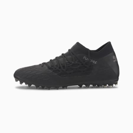 FUTURE 5.3 NETFIT MG Men's Football Boots, Puma Black-Asphalt, small