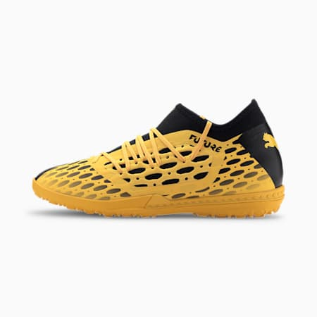 FUTURE 5.3 NETFIT TT Men's Soccer Shoes, ULTRA YELLOW-Puma Black, small