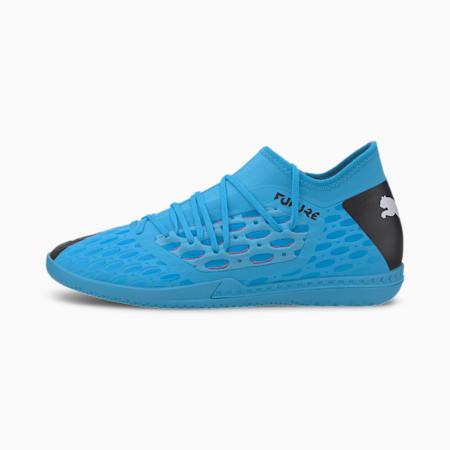 FUTURE 5.3 NETFIT IT Men's Soccer Shoes, Blue-Nrgy Blue-Black-Pink, small