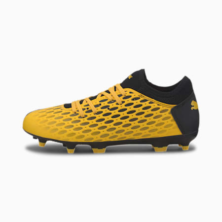 FUTURE 5.4 FG/AG voetbalschoenen voor jeugd, ULTRA YELLOW-Puma Black, small