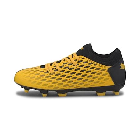 FUTURE 5.4 FG/AG Youth Football Boots, ULTRA YELLOW-Puma Black, small-SEA