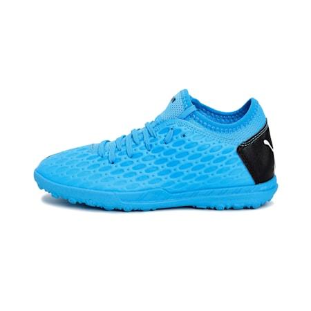 FUTURE 5.4 TT Jr Football Boots, Blue-Nrgy Blue-Black-Pink, small-IND