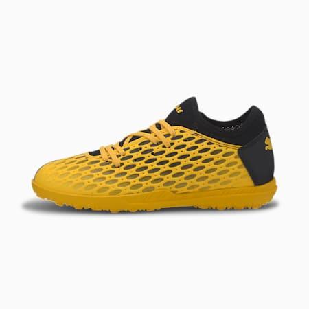 FUTURE 5.4 TT Soccer Shoes JR, ULTRA YELLOW-Puma Black, small