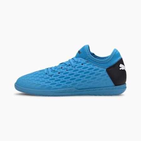 FUTURE 5.4 IT Soccer Shoes JR, Blue-Nrgy Blue-Black-Pink, small
