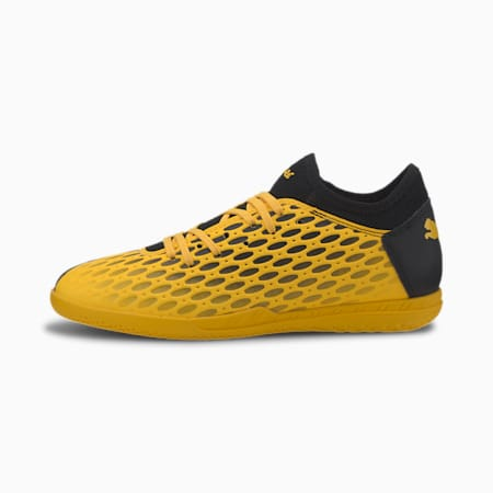 Botas de fútbol para jóvenes FUTURE 5.4 IT, ULTRA YELLOW-Puma Black, small