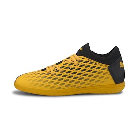 FUTURE 5.4 IT Youth Football Boots, ULTRA YELLOW-Puma Black, small