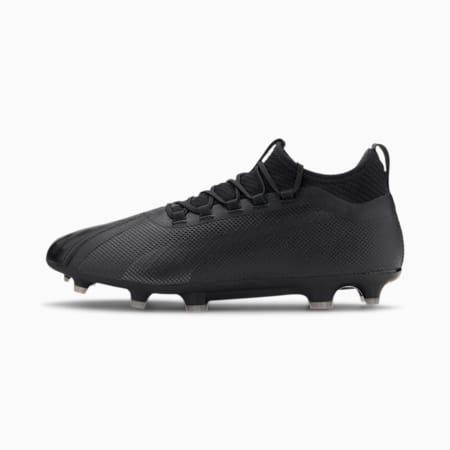 PUMA ONE 20.2 FG/AG Men's Football Boots, Puma Black-Asphalt, small