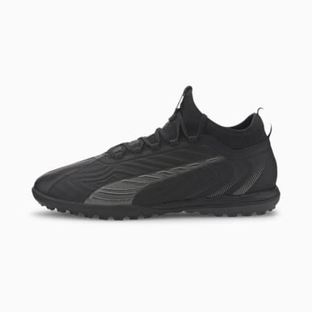 PUMA ONE 20.3 TT Men's Soccer Shoes, Puma Black-Asphalt, small