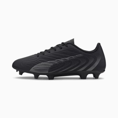 PUMA ONE 20.4 FG/AG Men's Football Boots, Puma Black-Asphalt, small-IND