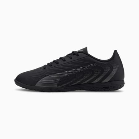 Chaussure de foot PUMA ONE 20.4 IT pour homme, Puma Black-Asphalt, small