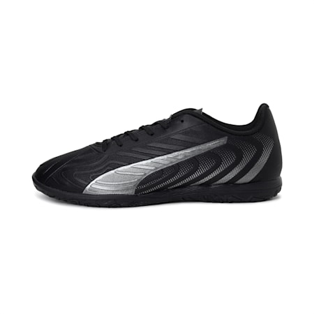 PUMA ONE 20.4 IT Men's Football Boots, Puma Black-Asphalt, small-IND