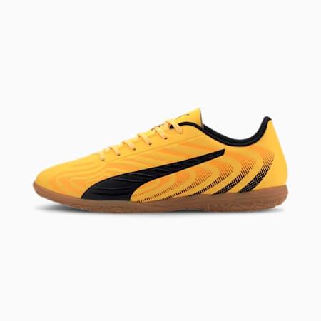 PUMA ONE 20.4 IT Men's Football Boots, YELLOW-Black-Orange -Gum, small-IND