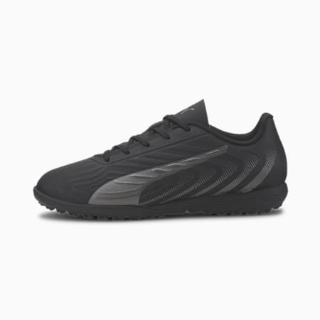 PUMA ONE 20.4 TT Soccer Shoes JR, Puma Black-Asphalt, small