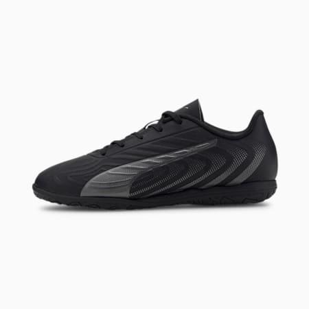 Młodzieżowe buty piłkarskie PUMA ONE 20.4 IT, Puma Black-Asphalt, small