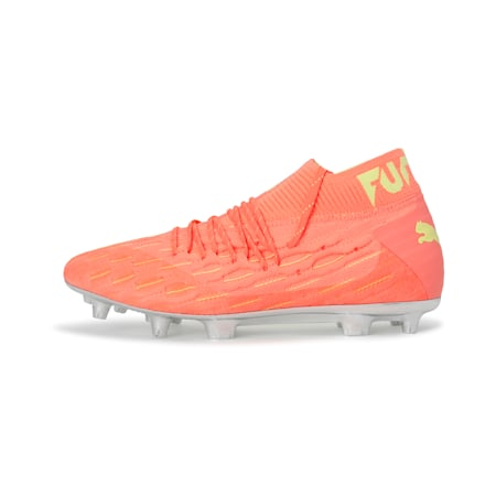 FUTURE 5.1 NETFIT OSG FG/AG Men's Football Boots, Nrgy Peach-Fizzy Yellow, small-IND