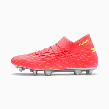 Męskie buty piłkarskie FUTURE 5.2 NETFIT FG/AG, Nrgy Peach-Fizzy Yellow, small