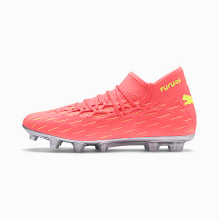 FUTURE 5.2 NETFIT HG Men's Football Boots, Nrgy Peach-Fizzy Yellow, small