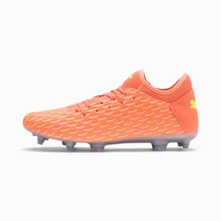 FUTURE 5.4 FG/AG Men's Football Boots, Nrgy Peach-Fizzy Yellow, small