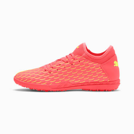 Chaussure de foot FUTURE 5.4 TT pour homme, Nrgy Peach-Fizzy Yellow, small