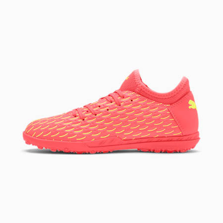 FUTURE 5.4 TT Youth Fußballschuhe, Nrgy Peach-Fizzy Yellow, small