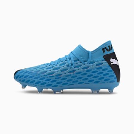 FUTURE 5.2 NETFIT FG/AG EVO Herren Fußballschuhe, Blue-Nrgy Blue-Black-Pink, small