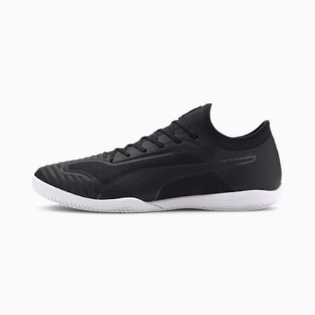 365 Sala 1 Men's Football Boots, Black-Asphalt-White, small
