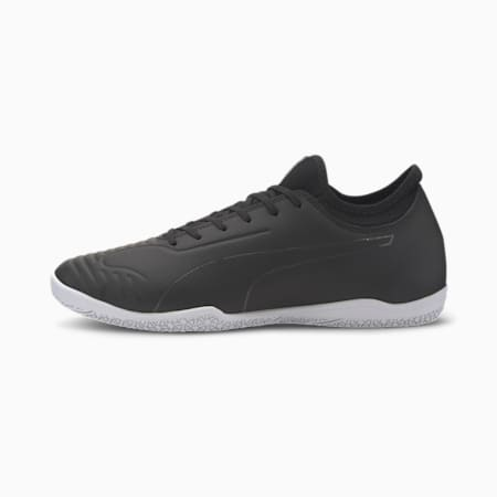 365 Sala 2 Men's Soccer Shoes, Puma Black-Asphalt-White, small
