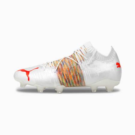 Męskie buty piłkarskie FUTURE Z 1.1 FG/AG, Puma White-Red Blast, small