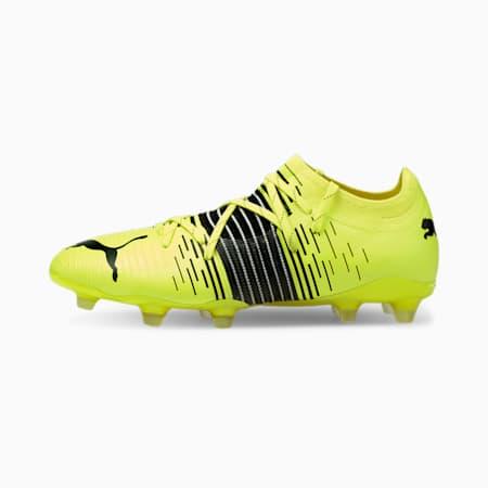 Botas de fútbol para hombre FUTURE Z 2.1 FG/AG, Yellow Alert- Black- White, small
